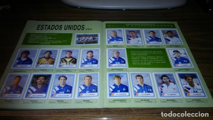 Álbum de fútbol completo: ALBUM CAMPEONATO MUNDIAL DE FÚTBOL USA 94 (EDICIONES ESTADIO) - COMPLETO (445 CROMOS) - Foto 12 - 163716986