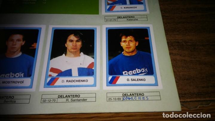 Álbum de fútbol completo: ALBUM CAMPEONATO MUNDIAL DE FÚTBOL USA 94 (EDICIONES ESTADIO) - COMPLETO (445 CROMOS) - Foto 29 - 163716986