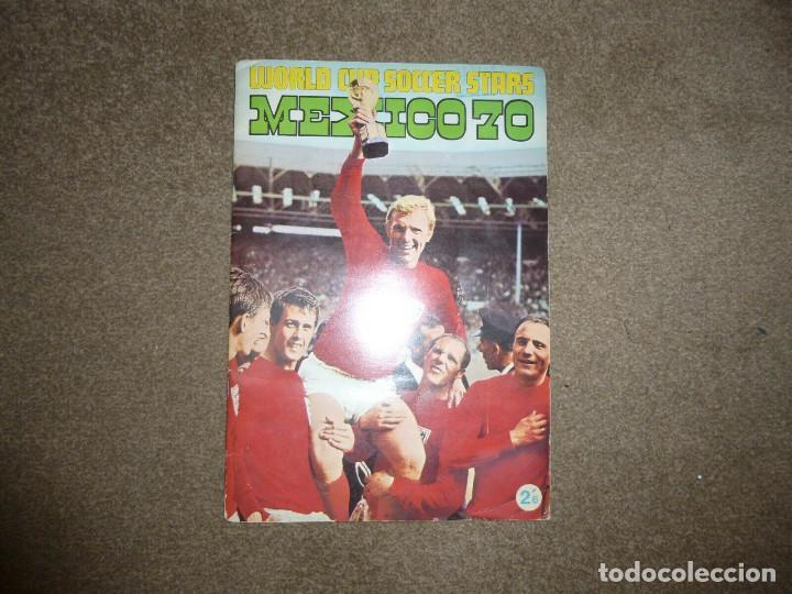 ÁLBUM MÉXICO 70 COMPLETO (Coleccionismo Deportivo - Álbumes y Cromos de Deportes - Álbumes de Fútbol Completos)