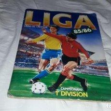 Álbum de fútbol completo: INCREIBLE ALBUM LIGA 1985-86 ESTE. Lote 164604570
