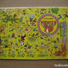 Álbum de fútbol completo: 1970 ALBUM FUTBOL MUNDIAL MEXICO 70 - COPA DEL MUNDO RIMET - COMPLETO. Lote 164721036