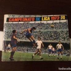 Álbum de fútbol completo: ANTIGUO ÁLBUM FÚTBOL CAMPEONATO DE LIGA 1973 -74 DISGRA MUY BUEN ESTADO. Lote 182422320