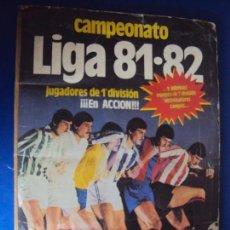 Álbum de fútbol completo: (F-190515)ALBUM CROMOS FUTBOL CAMPEONATO DE LIGA 81-82 - EDITORIAL ESTE. Lote 165585486