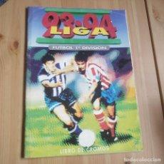 Álbum de fútbol completo: COLECCION COMPLETA 93/94 ESTE (CARTÓN) + ALBUM VACIO. Lote 165596494