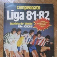 Álbum de fútbol completo: CAMPEONATO LIGA ESTE 81 82 COMPLETO VER FOTOS. Lote 165633066