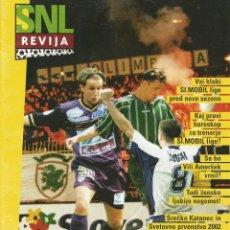 Álbum de fútbol completo: REVIJA. - 1.SNL-MOBIL LIGA 1999/2000 - #. Lote 165727870