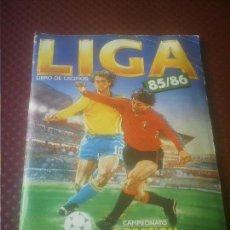 Álbum de fútbol completo: LIGA 85/86 ,85-86 ESTE ALBUM COMPLETO CON FICHAJES.. Lote 165777442