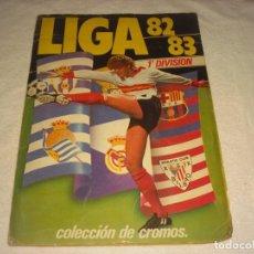 Álbum de fútbol completo: LIGA 82-83 , 1ª DIVISION. ED ESTE . CONTIENE 371 CROMOS.. Lote 165841646