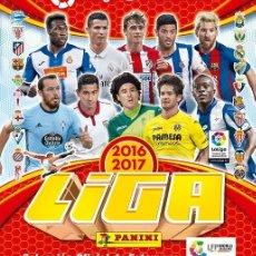 Álbum de fútbol completo: ALBUM LIGA SANTANDER 2016 17 ( EDITADO EN MEXICO) 2 ALBUMS + COL. COMPLETA SIN PEGAR. Lote 178020897