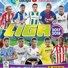 Álbum de fútbol completo: ALBUM LIGA SANTANDER 2017 18 ( EDITADO EN MEXICO) ALBUM + COL. COMPLETA SIN PEGAR. Lote 178020955