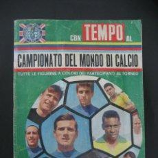 Álbum de fútbol completo: 1966 ALBUM CAMPEONATO DEL MUNDO DE FUTBOL - MUNDIAL INGLATERRA 66 - COMPLETO 352 CROMOS. Lote 166145710