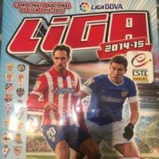 Álbum de fútbol completo: ALBUM CROMOS FUTBOL LIGA 2014-2015 COMPLETO. Lote 166164834