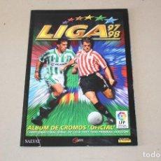 Álbum de fútbol completo: ALBUM FACSIMIL LIGA 97-98 EDICIONES ESTE - CROMOS INOLVIDABLES SALVAT 1997-1998. Lote 167169928