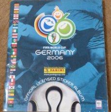 Álbum de fútbol completo: ALBUM MUNDIAL FUTBOL ALEMANIA 2006 (PANINI) COMPLETO.. Lote 167243368