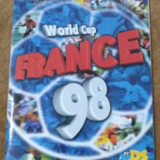 Álbum de fútbol completo: ALBUM MUNDIAL FUTBOL FRANCIA 1998 (DS/RICARDO PANINI) COMPLETO.. Lote 167245336
