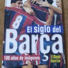 Álbum de fútbol completo: ALBUM FUTBOL EL SIGLO DEL BARÇA (PLANETA DE AGOSTINI) COMPLETO.. Lote 167246212