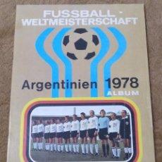 Álbum de fútbol completo: ALBUM FUTBOL MUNDIAL ARGENTINA 1978 (AMERICANA MÜNCHEN) COMPLETO.. Lote 167252076