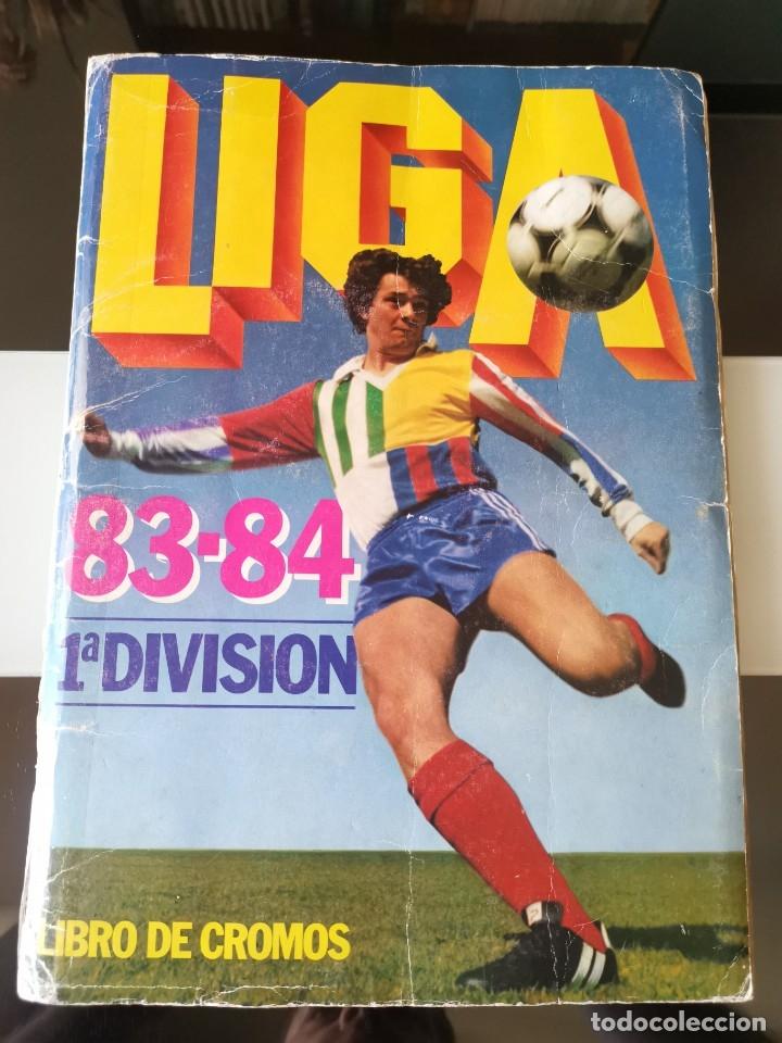 ÁLBUM CROMOS FÚTBOL LIGA ESTE 83 84 1ª DIVISIÓN CON 429 CROMOS NO DISGRA FHER RUÍZ ROMERO 1983 1984 (Coleccionismo Deportivo - Álbumes y Cromos de Deportes - Álbumes de Fútbol Completos)