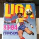 Álbum de fútbol completo: ÁLBUM CROMOS FÚTBOL LIGA ESTE 83 84 1ª DIVISIÓN CON 429 CROMOS NO DISGRA FHER RUÍZ ROMERO 1983 1984. Lote 167253338