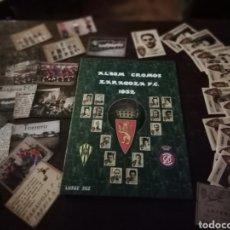 Álbum de fútbol completo: ALBUM DE CROMOS DE FÚTBOL ZARAGOZA FÚTBOL 1932 TORRERO, AVISPAS, IBERIA. Lote 167556512