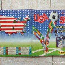 Álbum de fútbol completo - ALBUM DE FUTBOL. USA 94. PANINI. COMPLETO. BUEN ESTADO. - 167593461