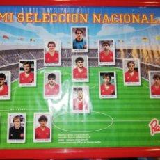 Álbum de fútbol completo: MI SELECCIÓN NACIONAL REVILLA ALBUM POSTER. Lote 168196141