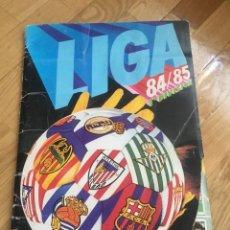 Álbum de fútbol completo: DOS ALBUMES 84 85 1984 1985 ESTE CON SALVA PATON ETC MÁS OTRO ÁLBUM. Lote 168218422