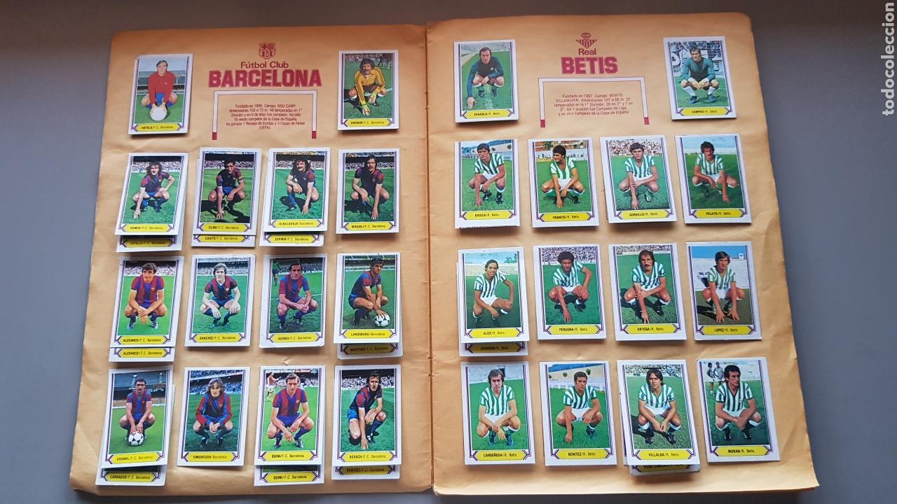Álbum de fútbol completo: ALBUM TODO EDITADO COMPLETO 80 81 1980 1981 CON LOS 4 PINTADOS - Foto 4 - 168323765