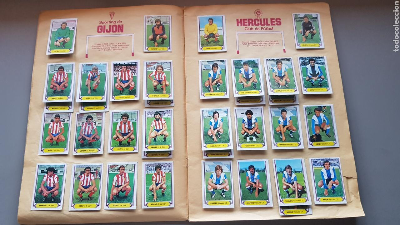 Álbum de fútbol completo: ALBUM TODO EDITADO COMPLETO 80 81 1980 1981 CON LOS 4 PINTADOS - Foto 6 - 168323765