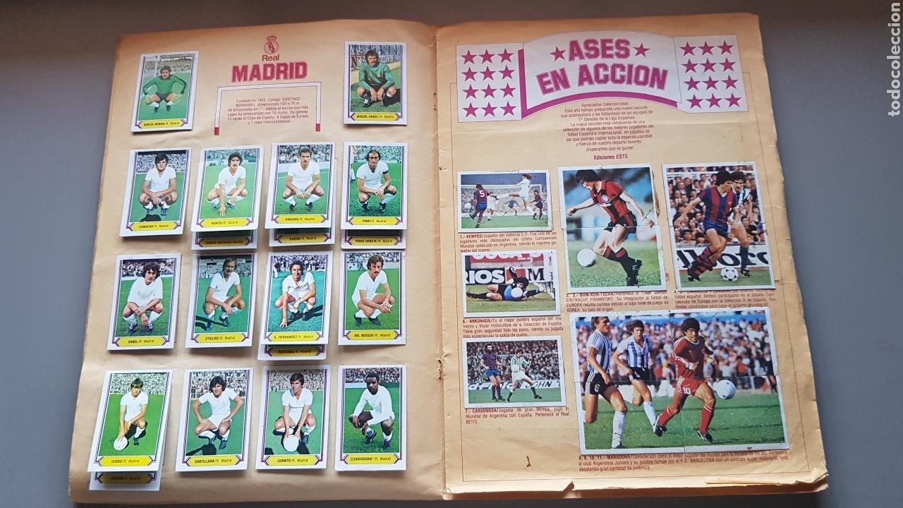Álbum de fútbol completo: ALBUM TODO EDITADO COMPLETO 80 81 1980 1981 CON LOS 4 PINTADOS - Foto 8 - 168323765