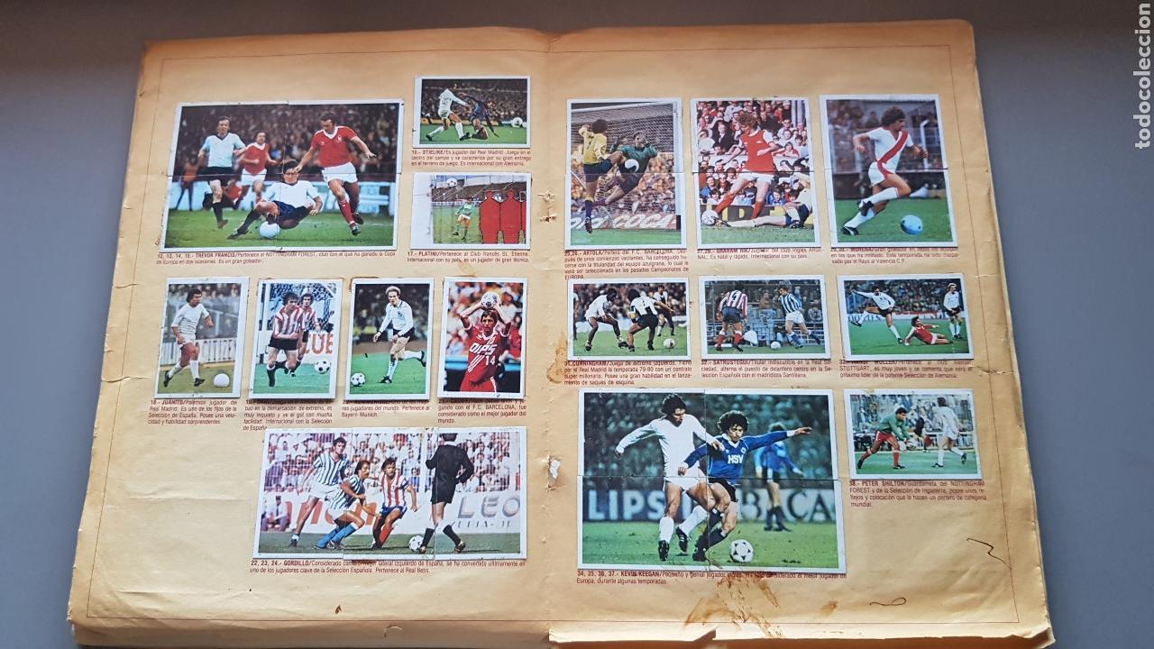 Álbum de fútbol completo: ALBUM TODO EDITADO COMPLETO 80 81 1980 1981 CON LOS 4 PINTADOS - Foto 9 - 168323765
