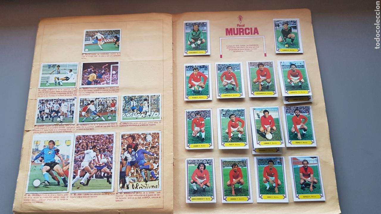 Álbum de fútbol completo: ALBUM TODO EDITADO COMPLETO 80 81 1980 1981 CON LOS 4 PINTADOS - Foto 10 - 168323765