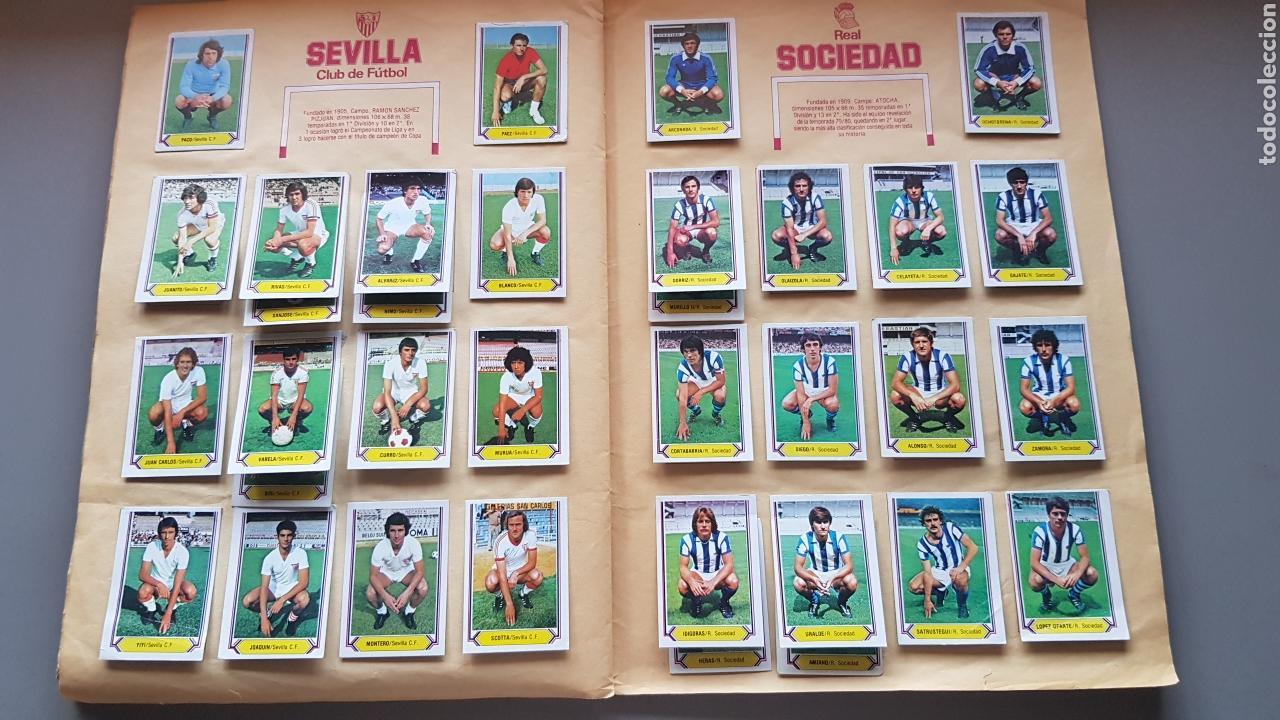 Álbum de fútbol completo: ALBUM TODO EDITADO COMPLETO 80 81 1980 1981 CON LOS 4 PINTADOS - Foto 12 - 168323765