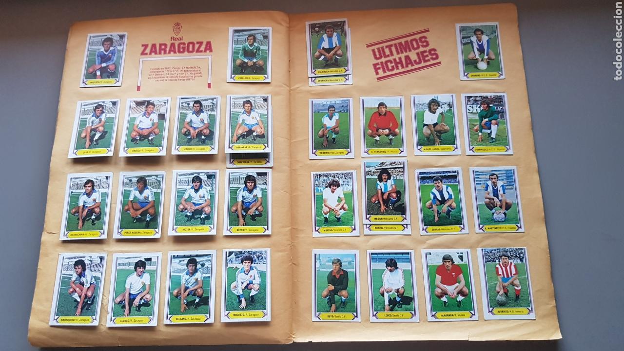 Álbum de fútbol completo: ALBUM TODO EDITADO COMPLETO 80 81 1980 1981 CON LOS 4 PINTADOS - Foto 14 - 168323765