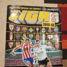 Álbum de fútbol completo: ALBUM LIGA ESTE 2012 -2013 12 13 PANINI. CON 564 CROMOS DIFERENTES CON VARIOS COLOCAS. Lote 168405416