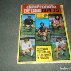 Álbum de fútbol completo: CAMPEONATO DE LIGA 1974-75 DE CHICLES SAMBER . Lote 168410196