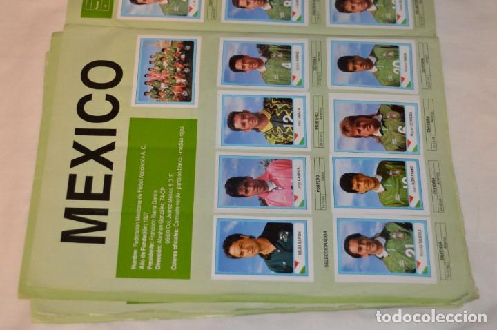 Álbum de fútbol completo: Álbum / CAMPEONATO MUNDIAL DE FÚTBOL USA 94 - Ediciones ESTADIO - COMPLETO ¡Mira, todo fotografiado! - Foto 6 - 168922414