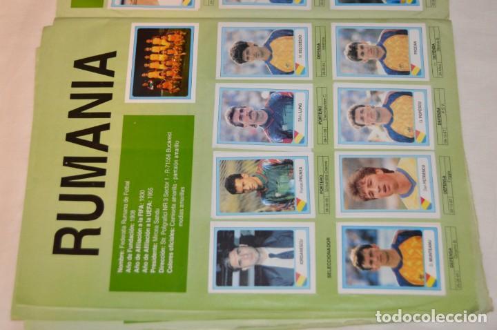 Álbum de fútbol completo: Álbum / CAMPEONATO MUNDIAL DE FÚTBOL USA 94 - Ediciones ESTADIO - COMPLETO ¡Mira, todo fotografiado! - Foto 12 - 168922414