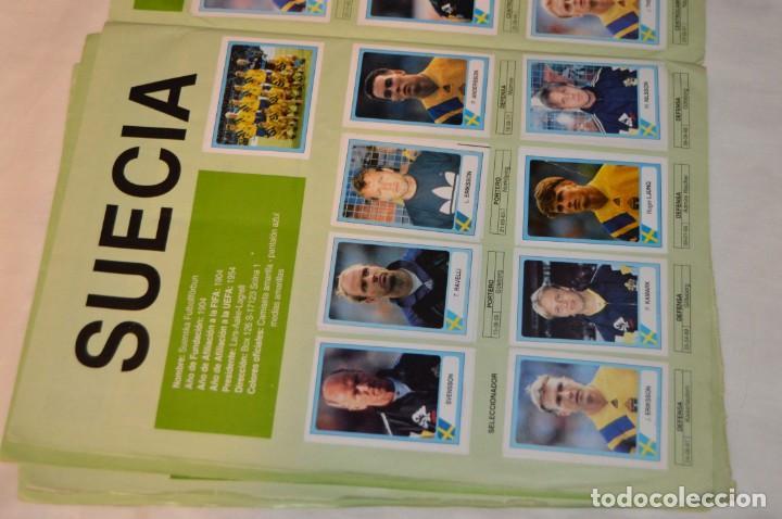 Álbum de fútbol completo: Álbum / CAMPEONATO MUNDIAL DE FÚTBOL USA 94 - Ediciones ESTADIO - COMPLETO ¡Mira, todo fotografiado! - Foto 16 - 168922414