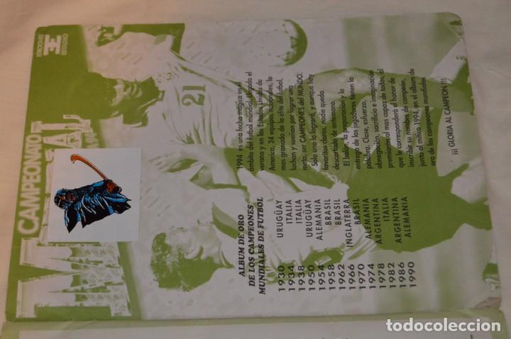 Álbum de fútbol completo: Álbum / CAMPEONATO MUNDIAL DE FÚTBOL USA 94 - Ediciones ESTADIO - COMPLETO ¡Mira, todo fotografiado! - Foto 23 - 168922414