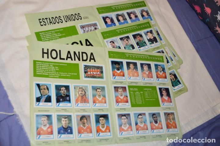 Álbum de fútbol completo: Álbum / CAMPEONATO MUNDIAL DE FÚTBOL USA 94 - Ediciones ESTADIO - COMPLETO ¡Mira, todo fotografiado! - Foto 24 - 168922414