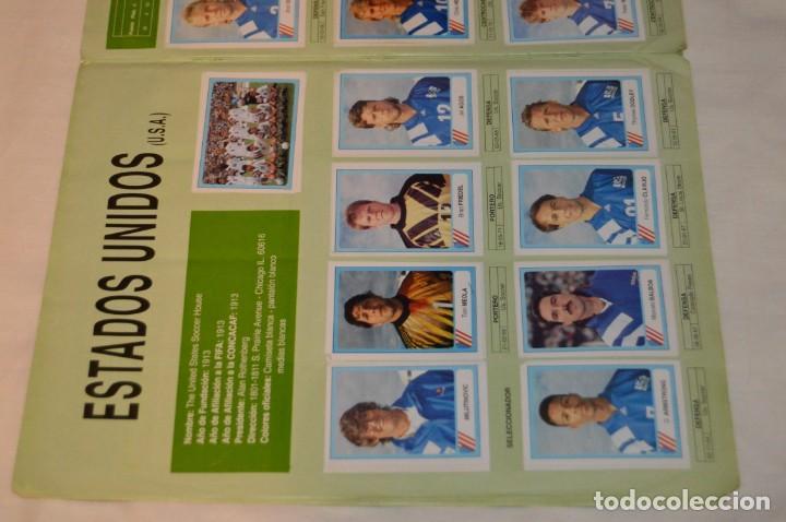 Álbum de fútbol completo: Álbum / CAMPEONATO MUNDIAL DE FÚTBOL USA 94 - Ediciones ESTADIO - COMPLETO ¡Mira, todo fotografiado! - Foto 43 - 168922414