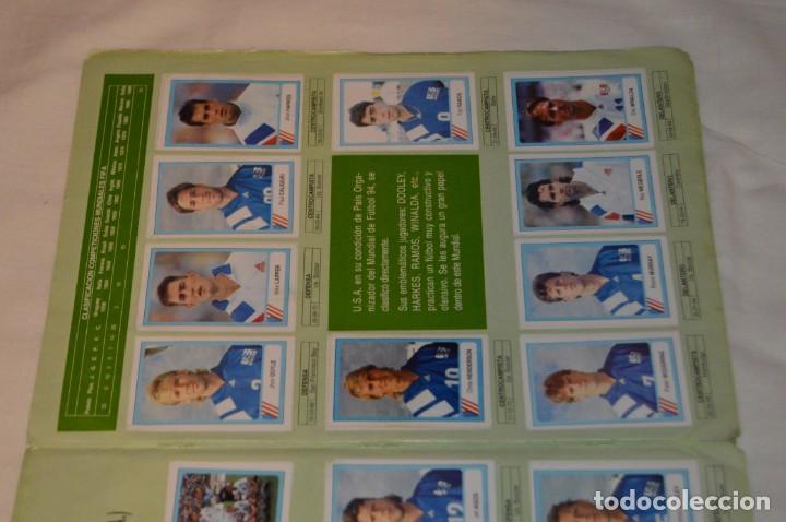 Álbum de fútbol completo: Álbum / CAMPEONATO MUNDIAL DE FÚTBOL USA 94 - Ediciones ESTADIO - COMPLETO ¡Mira, todo fotografiado! - Foto 44 - 168922414