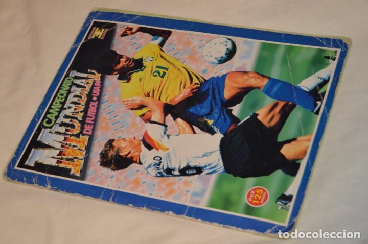 ÁLBUM / CAMPEONATO MUNDIAL DE FÚTBOL USA 94 - EDICIONES ESTADIO - COMPLETO ¡MIRA, TODO FOTOGRAFIADO! (Coleccionismo Deportivo - Álbumes y Cromos de Deportes - Álbumes de Fútbol Completos)