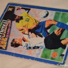 Álbum de fútbol completo: ALBUM CAMPEONATO MUNDIAL DE FÚTBOL USA 94 - ED. ESTADIO - COMPLETO - ENVÍO 24H. Lote 168922414