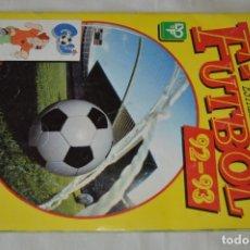 Álbum de fútbol completo: ALBUM PANINI - ESTRELLAS DE LA LIGA DE FUTBOL 92 - 93 - COMPLETÍSIMO - INCLUYE PÁGINAS REPETIENDAS 3. Lote 169290650