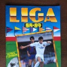 Álbum de fútbol completo: ALBUM FUTBOL LIGA ESTE 88-89 MUY COMPLETO 1988-1989 CON 41 CROMOS DOBLES DIFICILES. Lote 169464928