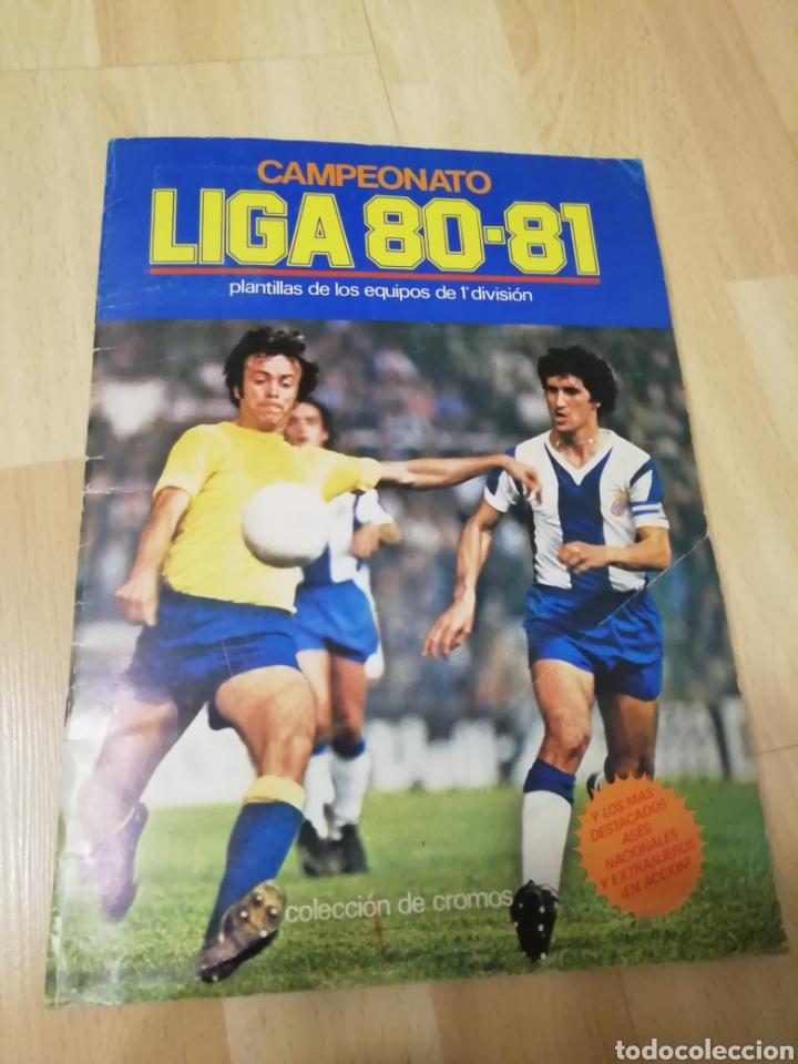 ALBUM LIGA ESTE 80 /81.. COMPLETO+ 60 DOBLES.... (Coleccionismo Deportivo - Álbumes y Cromos de Deportes - Álbumes de Fútbol Completos)