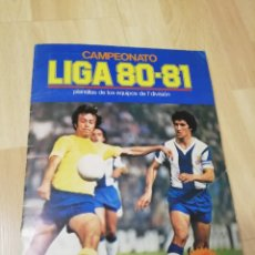 Álbum de fútbol completo: ALBUM LIGA ESTE 80 /81.. COMPLETO+ 60 DOBLES..... Lote 169791706