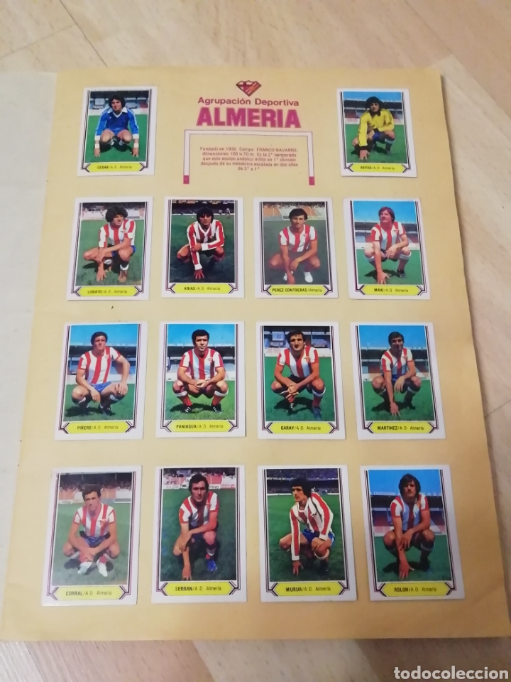 Álbum de fútbol completo: Album liga este 80 /81.. Completo+ 60 Dobles.... - Foto 3 - 169791706